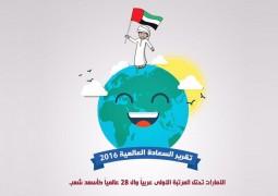 شعب الإمارات.. أسعد الشعوب العربية