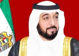 رئيس الدولة ونائبه ومحمد بن زايد يعزون الرئيس الروسي في ضحايا حادث تحطم طائرة ̎  فلاي دبي ̎