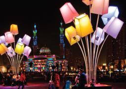 انطلاق الدورة السادسة لمهرجان أضواء الشارقة 2015