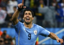 سواريز يهز شباك البرازيل في تصفيات كأس العالم