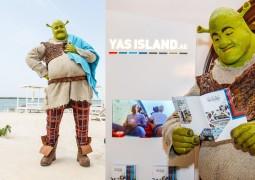 """الغول الأخضر """"شريك """" يستكشف جزيرة ياس خلال جولتة المسرحية"""
