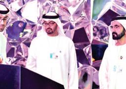 محمد بن راشد ومحمد بن زايد يزوران متحف المستقبل