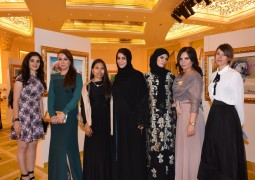 بالصور لافيلا تنفرد بعرض أشهر اللوحات الايطالية في دبي