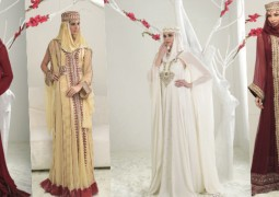مجموعة فريدة بقصاتها المبتكرة روائع سيدة شالكي من إبداعات قاسم القاسم