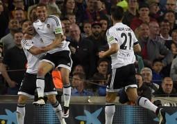 برشلونة يقف منتظراً بقية المنافسين قبل نهاية الدوري الاسباني بــ 5 مراحل !!