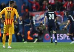 أتلتيكو مدريد يقهر برشلونة ويطيح به خارج دوري الأبطال