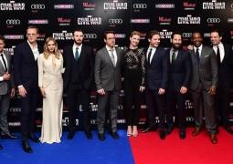 أبطال فيلم Captain America فى الإفتتاح الأوربى بلندن