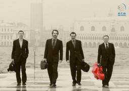 """هيئة أبوظبي للسياحة تستضيف فرقة """"رباعي فينيسيا"""" بمناسبة افتتاح معرض أبوظبي الدولي للكتاب."""