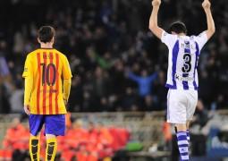 سقوط برشلونة أمام ريال سوسيداد