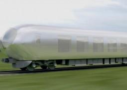 قطارات شفافة بـ اليابان قريباً