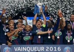 باريس سان جرمان يحتفظ بلقب كأس فرنسا
