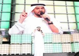 حسين الجسمي مفاجئة حفل سناب شات
