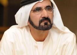 محمد بن راشد يزور شركة ومصنع /ماي دبي/ لمياه الشرب المعبأة.