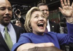 هيلاري كلينتون في المترو