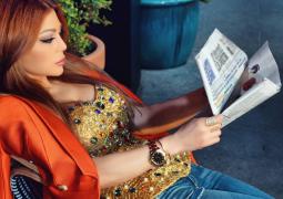 هيفاء وهبي بإطلالة ساحرة في شوارع بيروت
