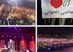 """بالدبكة اللبنانية عاصي الحلاني يشعل أجواء """"موازين"""""""