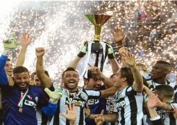 يوفنتوس يحتفل بلقب الدوري الإيطالي للموسم الخامس على التوالي