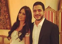 بالصور ..نجوم الفن يُحيون زفاف كريم السبكي وشهد رمزي
