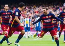 برشلونة يسحق إسبانيول بخماسية نظيفة
