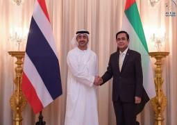رئيس وزراء تايلاند يستقبل عبدالله بن زايد