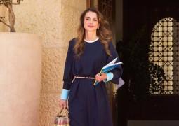 بالصورة…الملكة رانيا تستضيف الإعلامية علا الفارس على الإفطار