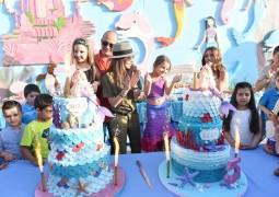 بالصور .. نانسي عجرم تحتفل بعيد ميلاد إيلا وميلا