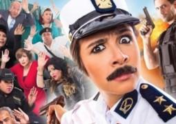 """ياسمين عبد العزيز تسجيل الأغنية الدعائية لفيلمها الجديد""""ابو شنب"""""""