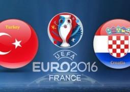 تركيا و كرواتيا غداً في الجولة الأولى للمجموعة الرابعة من بطولة كأس الأمم الأوروبية