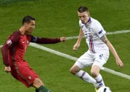 أيسلندا تتعادل مع البرتغال في اول ظهور ببطولة يورو 2016