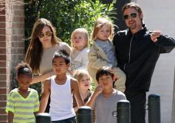أولاد انجلينا جولي لا يميلون للتمثيل .. وابنتها ففيان تتعلم اللغة العربية.