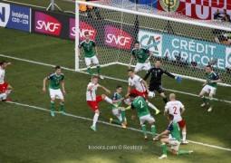 بولندا تحقق فوزا سهلا على أيرلندا الشمالية
