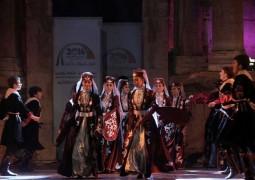 «الفولكلور الشّركسي» يُنعش مسرح «جرش» الجّنوبي