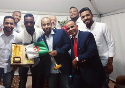 يوسف العماني يحقق نجاحات كبيرة  بتمثيله للخليج في الجزائر