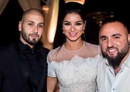 نجوم الفن وصنّاع الموسيقى في أميركا يحتفلون بالعروسين وسيم صليبي وريما فقيه
