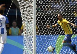 نيمار يسجل أسرع هدف في تاريخ الأولمبياد