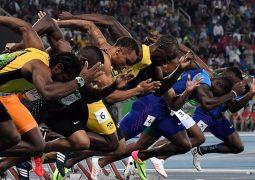 السهم الجمايكي بولت يحرز لقب 100 متر وينتزع الذهب لبلاده