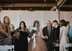 بالرّغم من إصابتها بالشلل… مشت يوم زفافها!