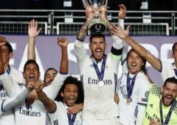 ريال مدريد يفتتح الموسم بفوزه على اشبيليا  ويحرز لقب بطولة السوبر الأوربية
