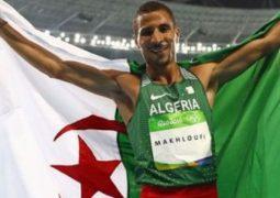 الجزائري مخلوفي ينتزع فضية سباق 800 متر