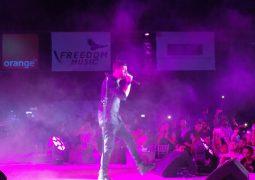 سعد لمجرد أشعل  حفلًا غنائيًا فى شرم الشيخ
