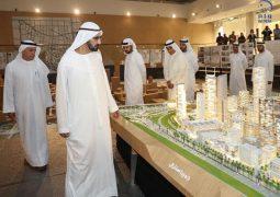 محمد بن راشد يعلن عن مشروع جميرا سنترال.