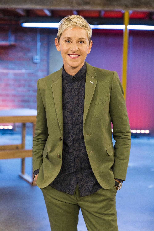 Ellen Degeneres, as seen on Ellen's Design Challenge.