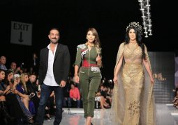 المصممة العالمية منال عجاج تنشر الياسمين بأبجدية ساحرة في أسبوع الموضة اللبناني