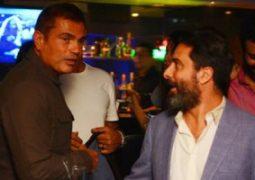 "عمرو دياب يقابل ""الشيخ جاكسون"" في احتفال خاص"