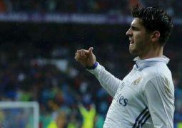 موراتا يمنح ريال مدريد الصدارة
