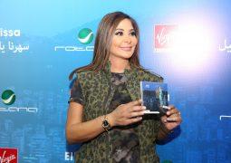 إليسا مع محبيها في الفرجن يحتفول بألبوم سهرنا ياليل