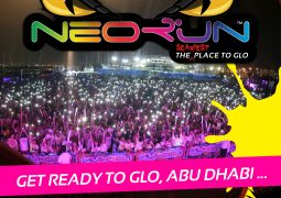 The Scariest Place to GLO is back at Zayed Sports City on October 28th!