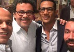 رمضان ينشر صورة مع المخرج عمرو عرفة