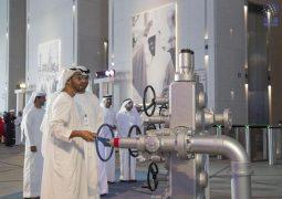 محمد بن زايد يفتتح المقر الجديد لشركة أدنوك