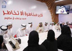 محمد بن راشد يفتتح أول مسرعات حكومية في العالم